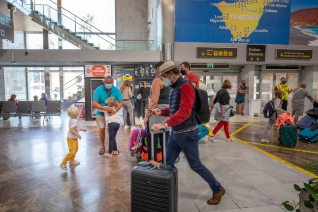 Spain to lift travel ban for UK arrivals on March 30th