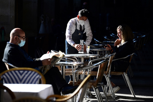 Spain's GDP fell slightly less than expected in 2020