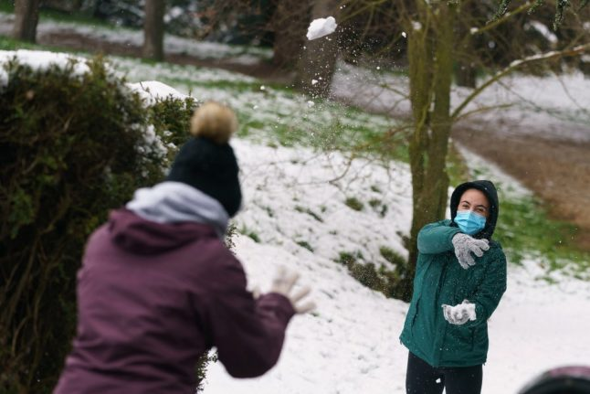 Season mixup: spring in Spain to kick off with winter storms and snow
