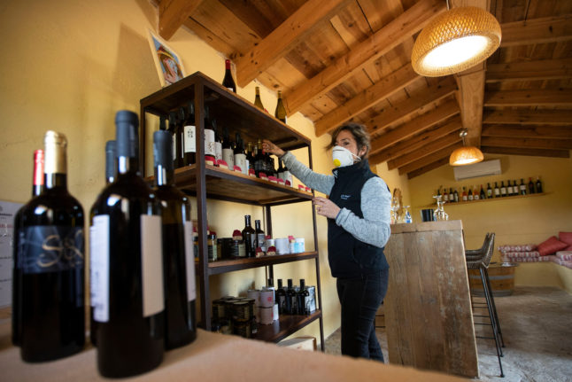 Wine in Spain is cheaper than other countries