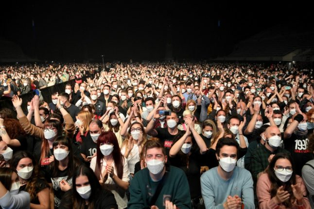 ROCK ON!: 'No sign' of infections after Spain's Covid concert trial