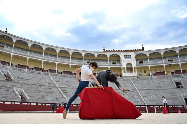 How the pandemic has put the careers of Spain's trainee bullfighters on hold