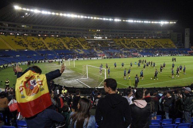Spain-Portugal football friendly to welcome 20,000 fans to the stands