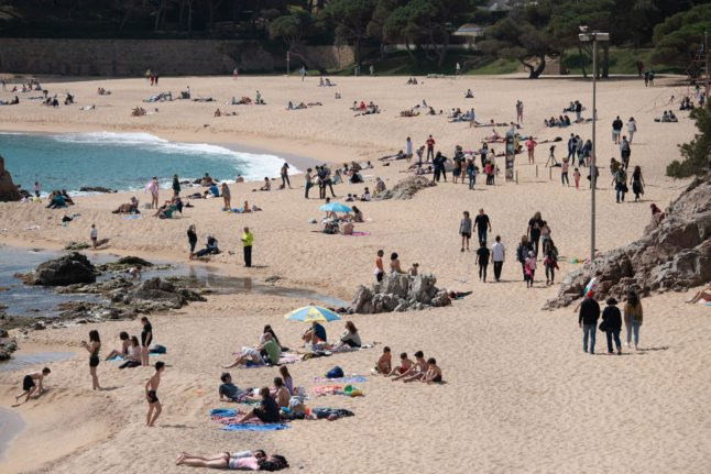 When can Irish holidaymakers and second home owners travel to Spain?
