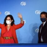 Spain's right-wing Popular Party achieves solid win in Madrid's divisive regional elections