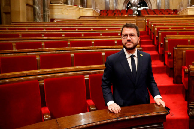 New Catalan leader vows to keep up independence fight