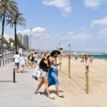 Why are Barcelona's beaches disappearing?