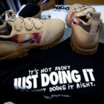 In Spain, migrant-designed trainers kick against system