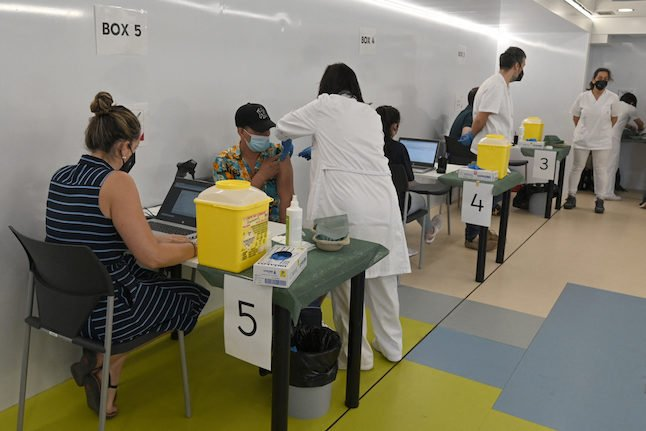 Where in Spain can I get vaccinated against Covid-19 without an appointment?