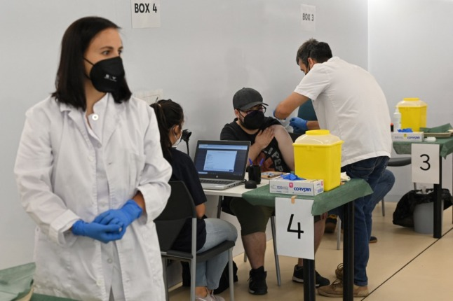 Spain mulls whether Covid vaccines should be obligatory for some workers