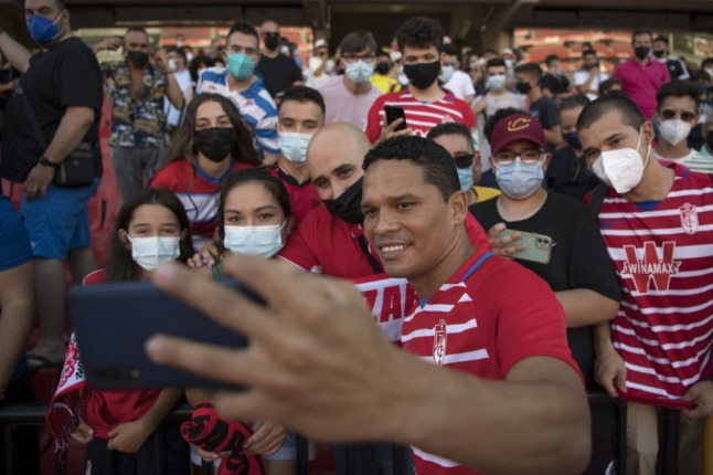 Spain's football stadiums to be allowed 40 percent attendance but fans must wear masks