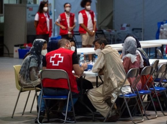 'It's Europe's hub': EU chiefs to visit Afghan evacuation centre in Spain