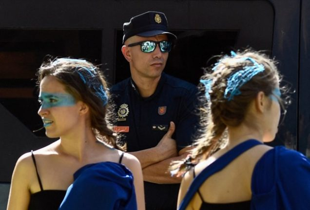 Spanish police wrong-footed as 25,000 students party at Madrid university
