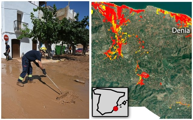 MAPS: The places in Spain which are most at risk of recurring flash floods