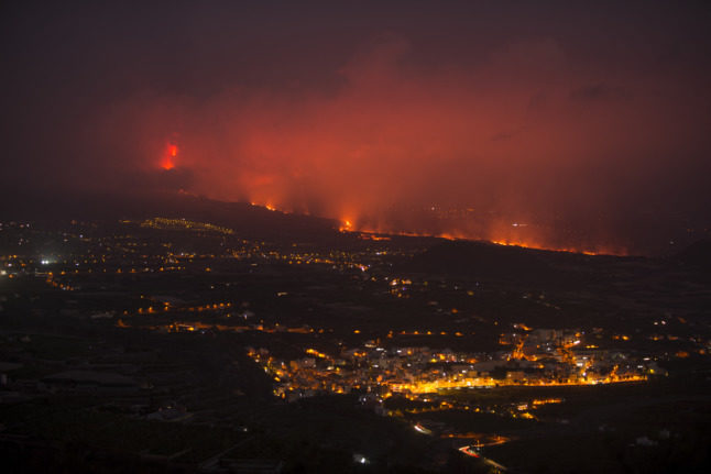 Airport on Spanish island of La Palma reopens as volcano destroys more buildings