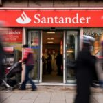 Spain's Santander sees profits rise thanks to favourable business in UK and US