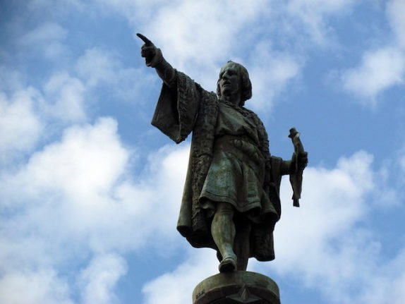 Was Christopher Columbus in fact Spanish and not Italian?