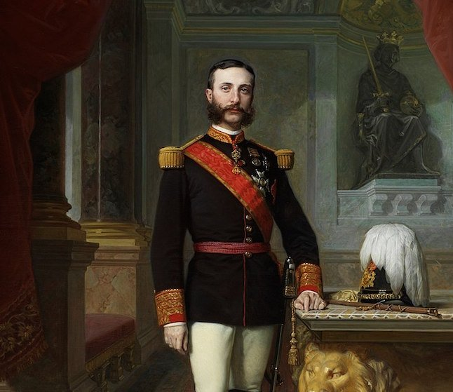 King Alfonso XII of Spain